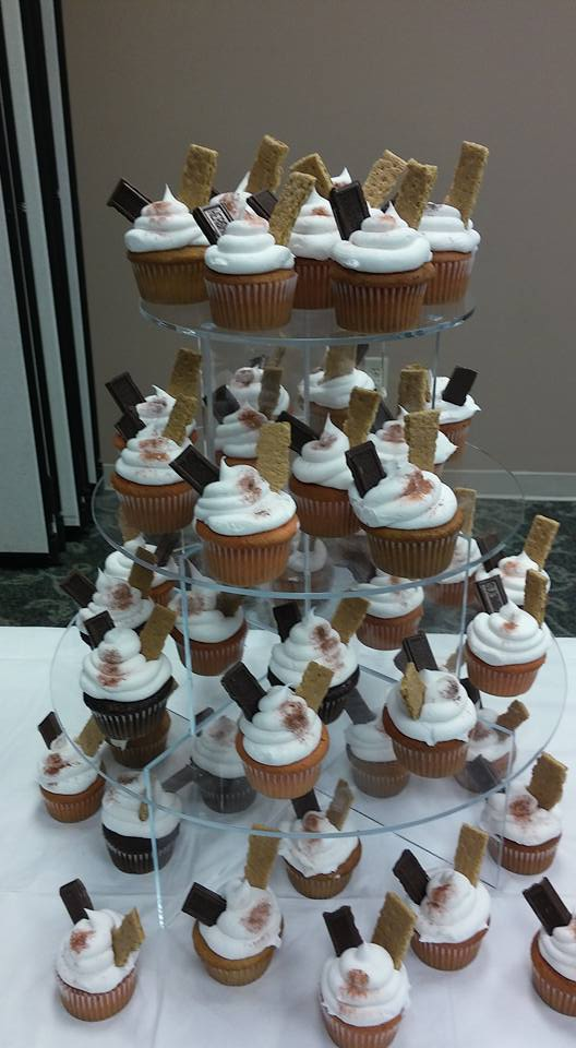 S'Mores Scout Cupcakes